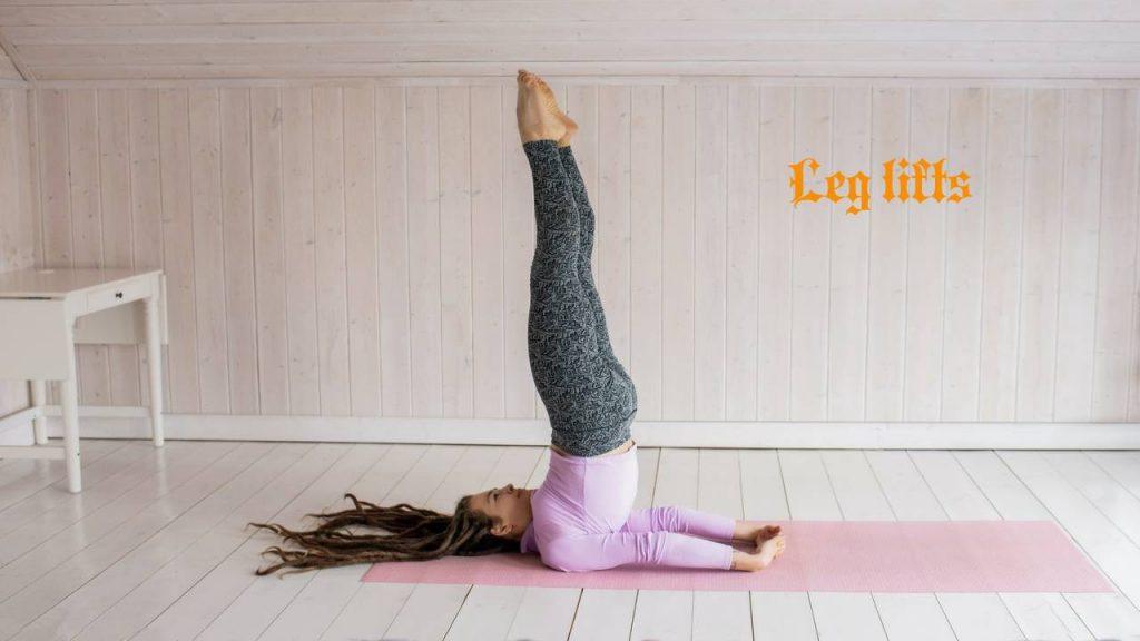 Leg lifts for pelvic floor