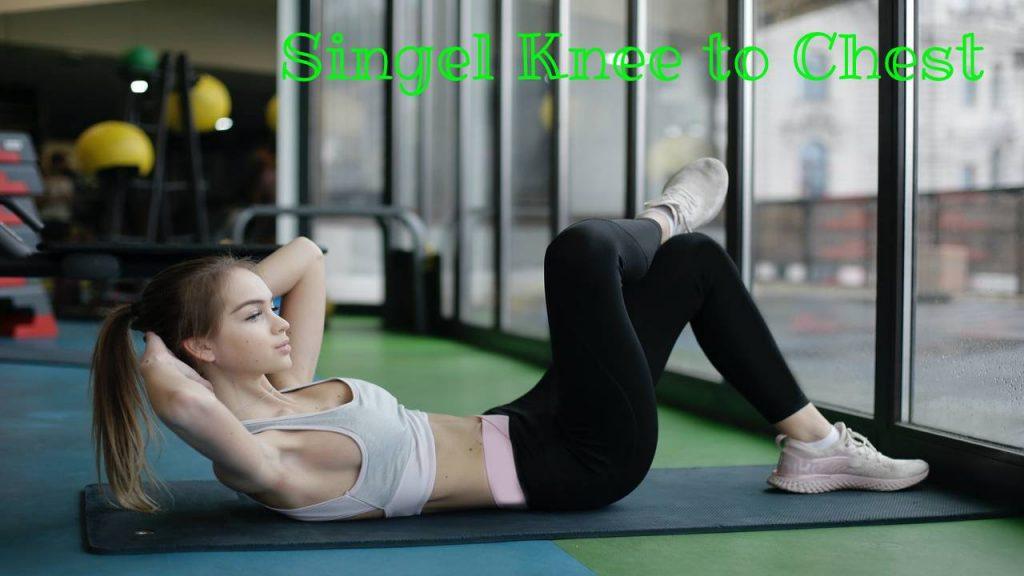 Singular knee to chest