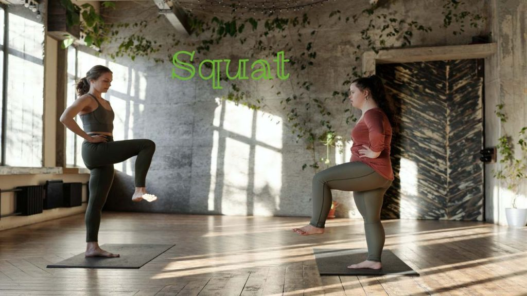 Squat rid for backpain