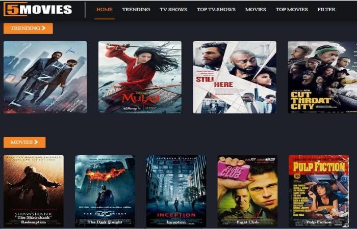 Movie4k Alternative 5 - 5movies