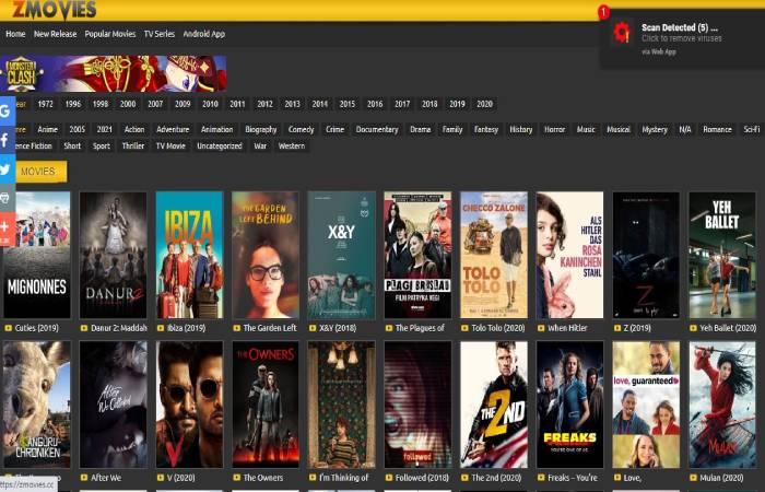 Movie4k Alternative 6 - Zmovies