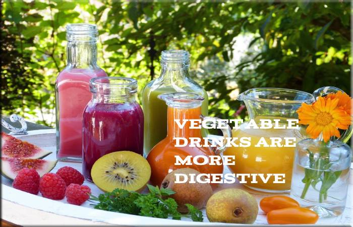 Vegetable Drinks Are More Digestive