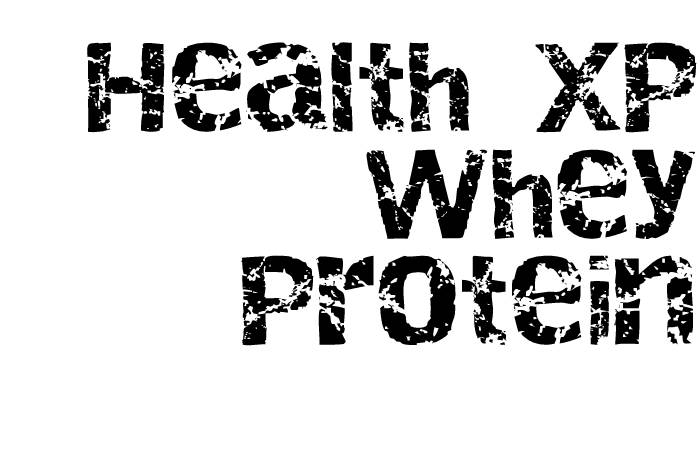 healthxp - whey protein