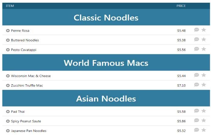 Nutritious Noodles